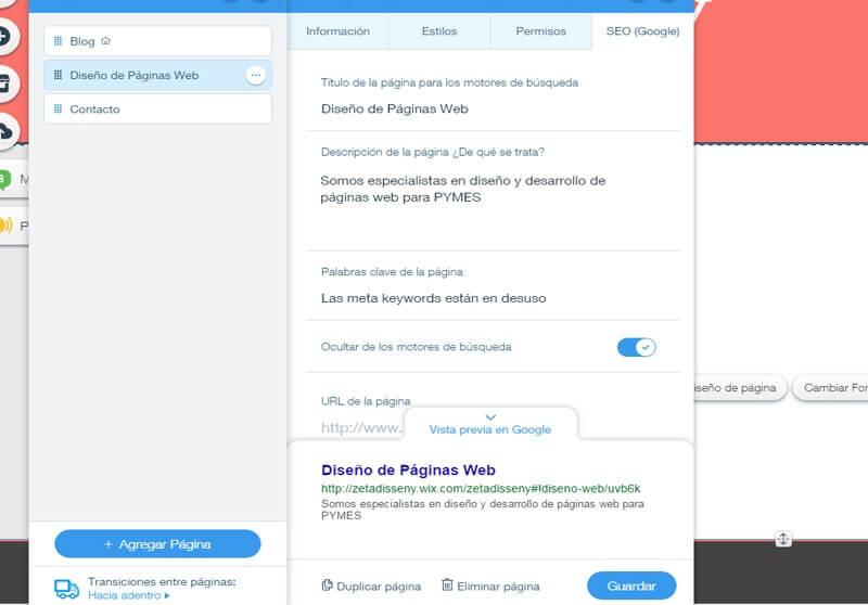 Indexar O Desindexar P Ginas De Wix | Posicionamiento Wix Pro: ¡la Mega Guía!